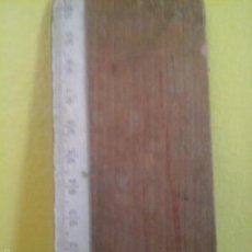 Antigüedades: REGLA DE MADERA. Lote 56543985