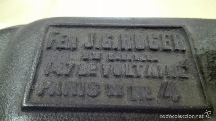 Antigüedades: ANTIGUA PLANCHA DE SASTRE DE CARBÓN - Foto 3 - 56574309