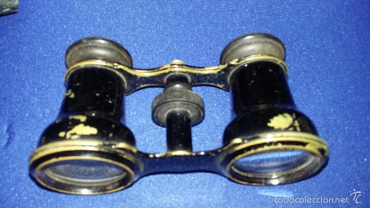 ANTIGUOS BINOCULARES JUMELLE DUCHESSE Y ESTUCHE ORIGINAL (Antigüedades - Técnicas - Instrumentos Ópticos - Binoculares Antiguos)