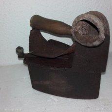Antigüedades: ANTIGUO PLANCHA DE CARBÓN DE CHIMENEA. Lote 56634594