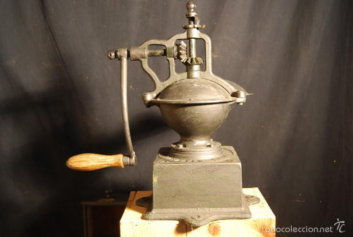 Antigüedades: ESPECTACULAR ANTIGUO MOLINILLO CAFE PEUGEOT 37 cm alt SIGLO XIX PIEZA MUSEO ORIGINAL 390,0 € - Foto 2 - 56675482