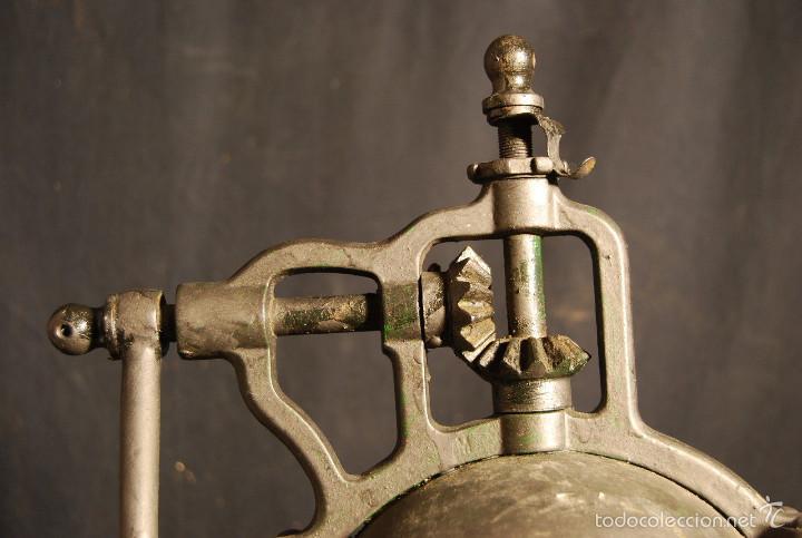Antigüedades: ESPECTACULAR ANTIGUO MOLINILLO CAFE PEUGEOT 37 cm alt SIGLO XIX PIEZA MUSEO ORIGINAL 390,0 € - Foto 5 - 56675482