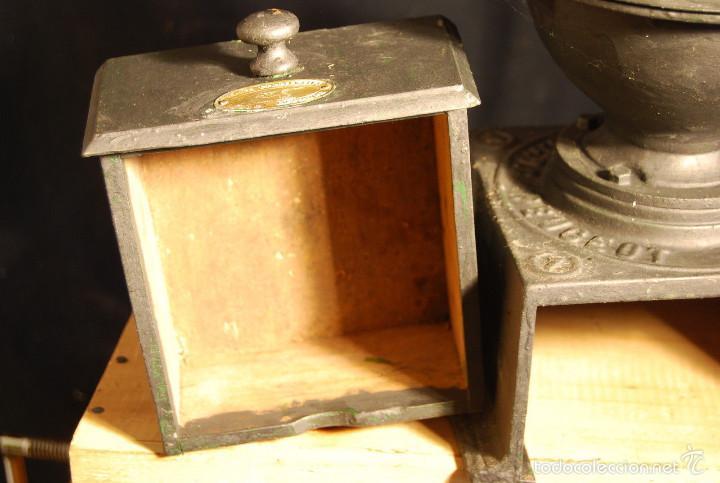 Antigüedades: ESPECTACULAR ANTIGUO MOLINILLO CAFE PEUGEOT 37 cm alt SIGLO XIX PIEZA MUSEO ORIGINAL 390,0 € - Foto 6 - 56675482