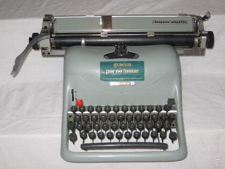 MAQUINA ESCRIBIR (OLIVETTI) (Antigüedades - Técnicas - Máquinas de Escribir Antiguas - Olivetti)