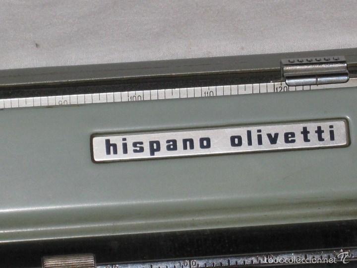 Antigüedades: Maquina escribir (Olivetti) - Foto 3 - 56682306