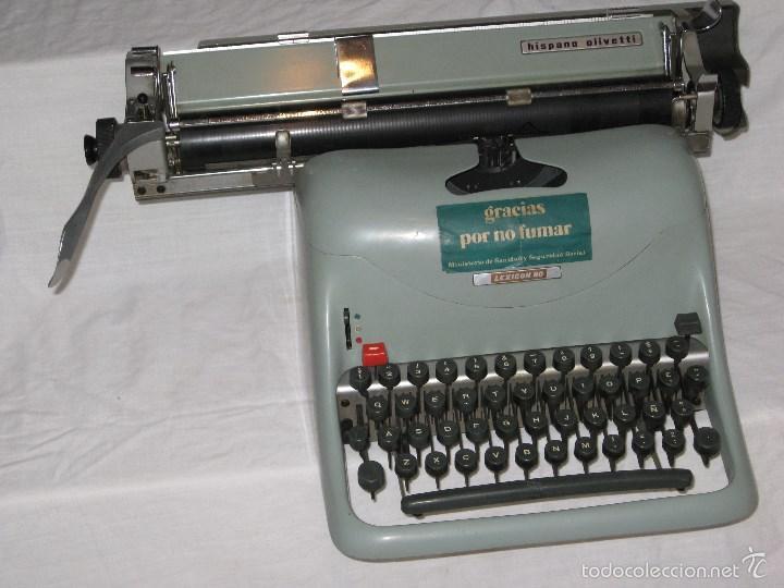 Antigüedades: Maquina escribir (Olivetti) - Foto 4 - 56682306