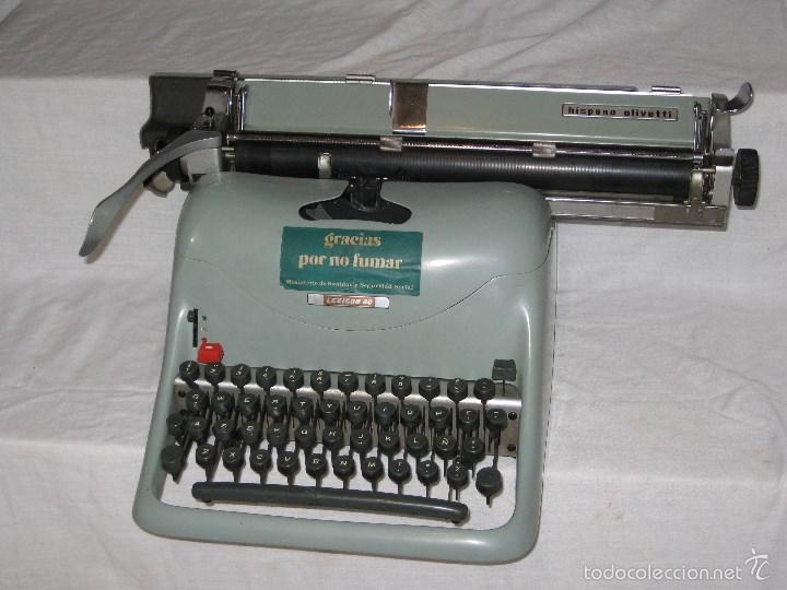 Antigüedades: Maquina escribir (Olivetti) - Foto 5 - 56682306