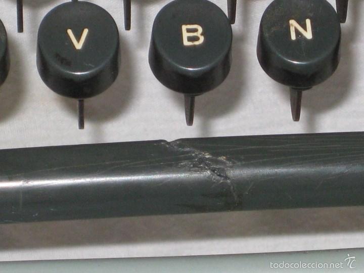 Antigüedades: Maquina escribir (Olivetti) - Foto 7 - 56682306