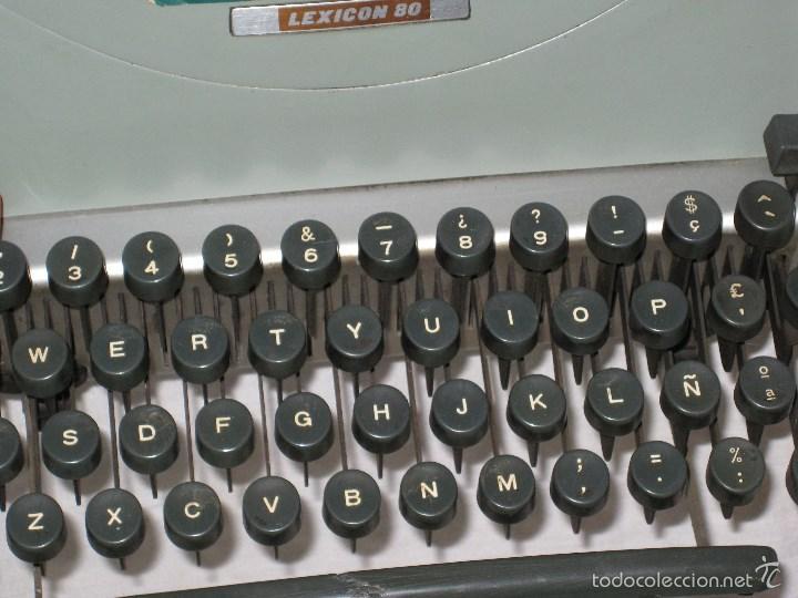 Antigüedades: Maquina escribir (Olivetti) - Foto 8 - 56682306