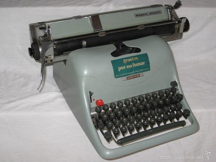Antigüedades: Maquina escribir (Olivetti) - Foto 9 - 56682306