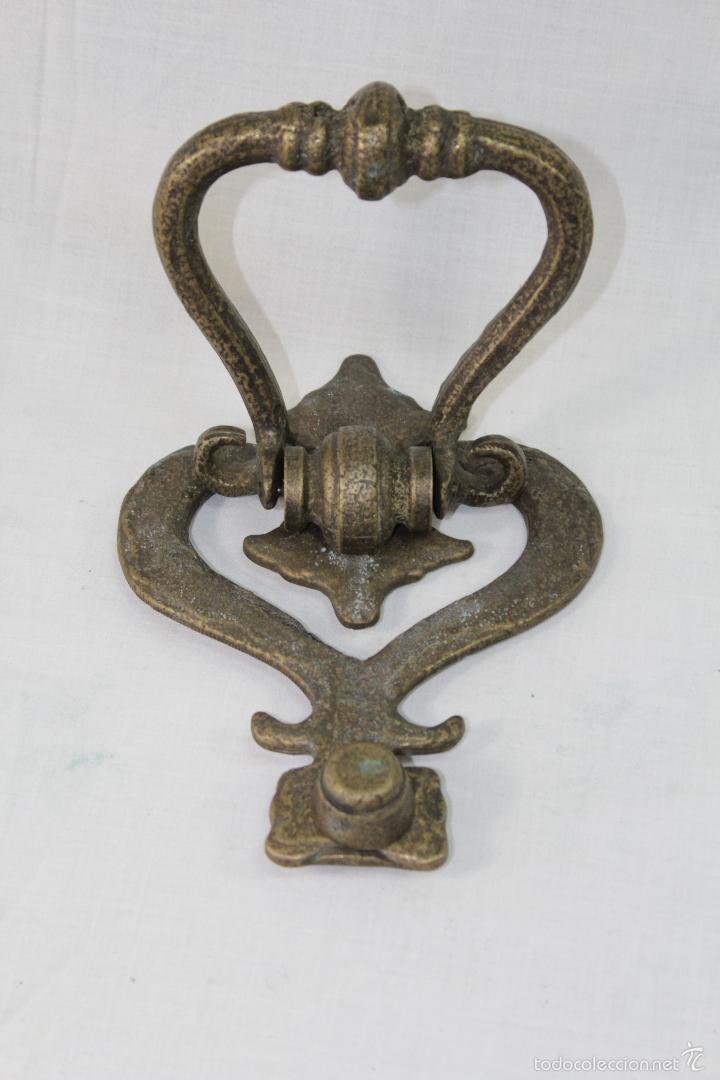 Antigüedades: llamador en bronce - Foto 3 - 56709366