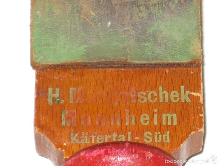 Antigüedades: Afilador cuchilla afeitar antiguo - Foto 4 - 56823991