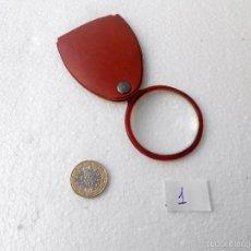 Antigüedades: LUPA DE BOLSILLO. Lote 56729308