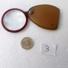 Antigüedades: LUPA DE BOLSILLO. Lote 56729333