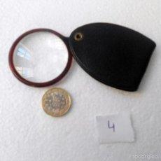 Antigüedades: LUPA DE BOLSILLO. Lote 56729338