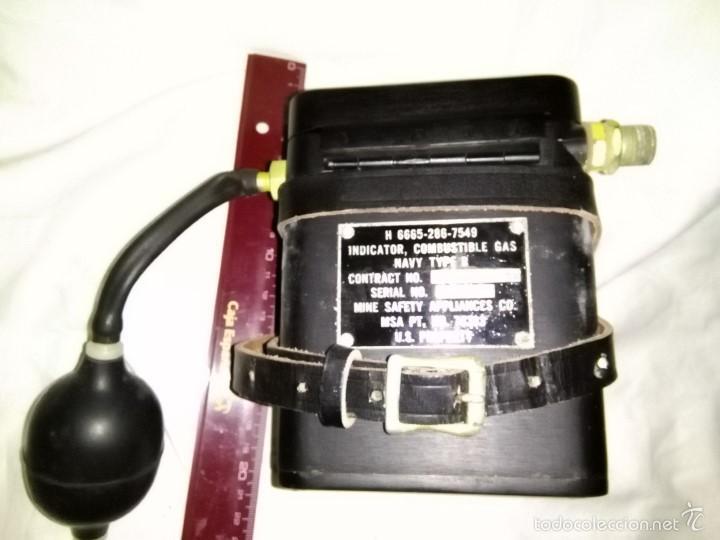 Antigüedades: comprobador nivel de grisu minero, mineria, explosimetro. - Foto 2 - 150691496
