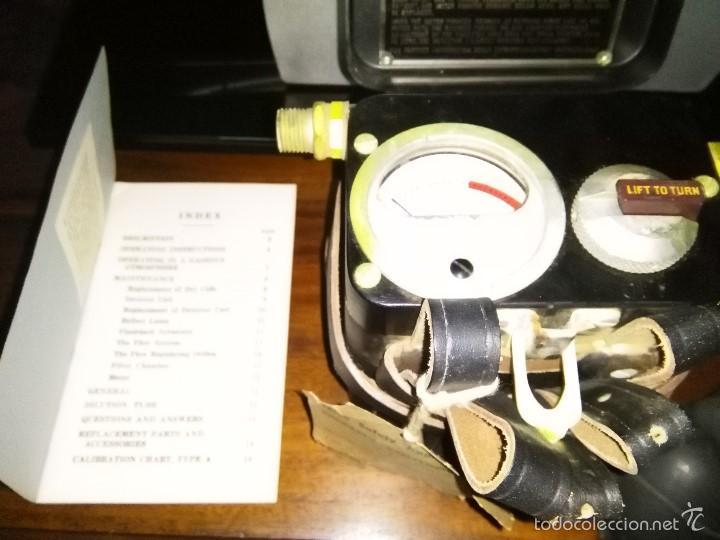 Antigüedades: comprobador nivel de grisu minero, mineria, explosimetro. - Foto 5 - 150691496