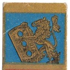 Antigüedades: HOJA DE AFEITAR - IBERIA CÉFIRO AZUL CON CUCHILLA. Lote 56735675