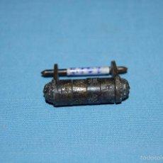 Antigüedades: CANDADO EN METAL CILINDRO CHINO. Lote 56764821