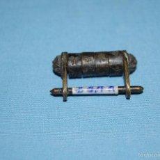 Antigüedades: CANDADO EN METAL CILINDRO CHINO. Lote 56765927