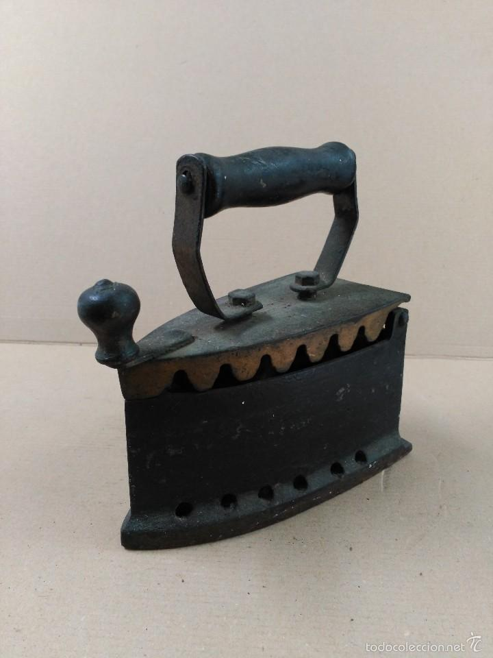 Antigüedades: Plancha de hierro de carbon - Foto 10 - 56813356