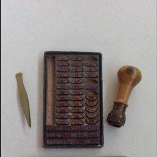 Antigüedades: TAMPON , IMPRENTA DE BOLSILLO. Lote 54368567