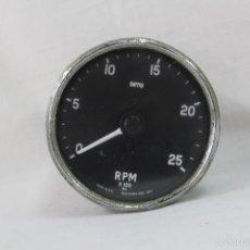 Antigüedades: TACOMETRO RPM X 100 MARCA SMIHS PARA BARCO. Lote 56862140