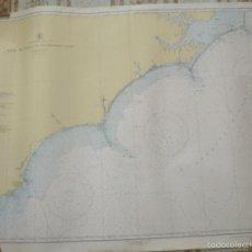 Antigüedades: CAPE HATTERAS TO CHARLESTON LIGTH - 1945 - 116X86 CMS. Lote 56889347