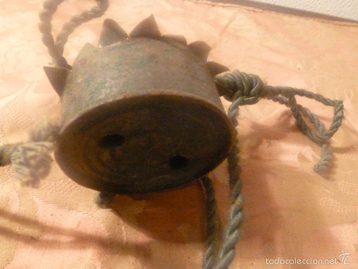 Antigüedades: contrapeso para lampara - Foto 7 - 56891494