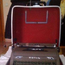 Antiquitäten - Antigua Maquina de Escribir Royal Quiet De Luxe Portatil - 56906892