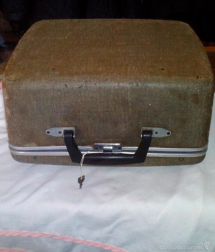 Antigüedades: Antigua Maquina de Escribir Royal Quiet De Luxe Portatil - Foto 7 - 56906892