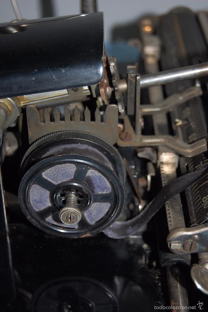 Antigüedades: MAQUINA ESCRIBIR DE LA FIRMA ALEMANA MIGNON 1925 - Foto 5 - 56919616