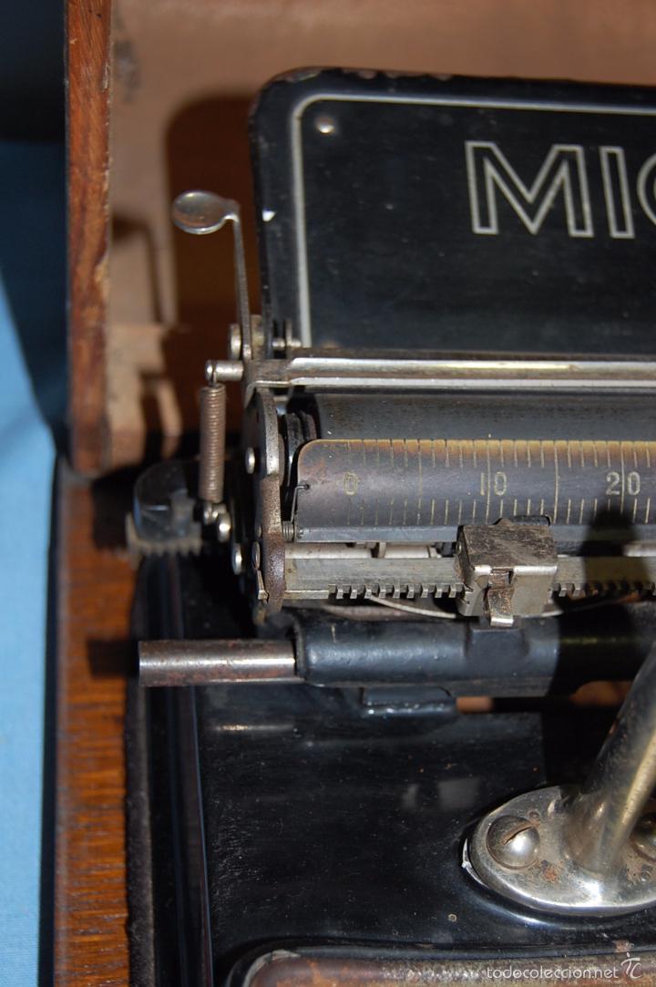 Antigüedades: MAQUINA ESCRIBIR DE LA FIRMA ALEMANA MIGNON 1925 - Foto 9 - 56919616