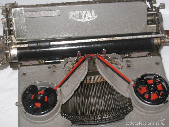 Antigüedades: maquina escribir antigua (Royal) - Foto 2 - 56923155