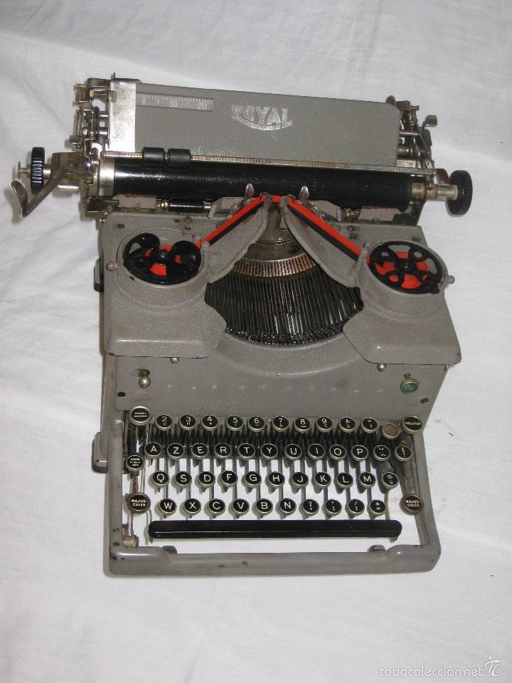 Antigüedades: maquina escribir antigua (Royal) - Foto 4 - 56923155