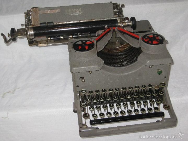 Antigüedades: maquina escribir antigua (Royal) - Foto 5 - 56923155