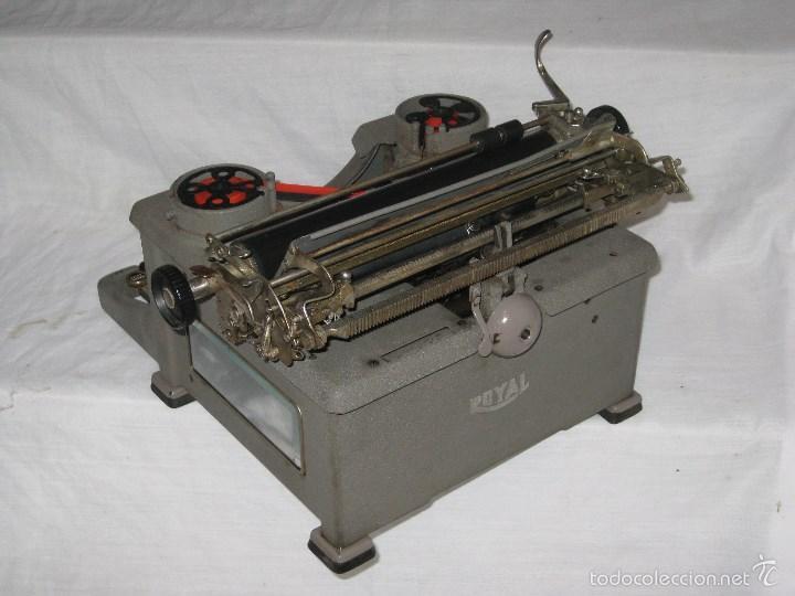 Antigüedades: maquina escribir antigua (Royal) - Foto 8 - 56923155