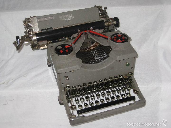 Antigüedades: maquina escribir antigua (Royal) - Foto 9 - 56923155