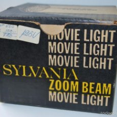 Antigüedades: LAMPARA SYLVANIA MOVIE LIGHT PARA FILMACION CINE Y VIDEO. Lote 56936425