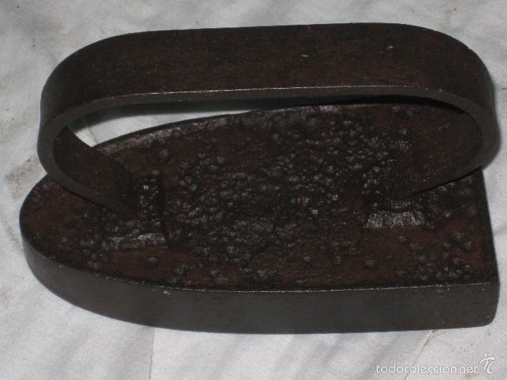 Antigüedades: Dos planchas antiguas - Foto 2 - 56972584