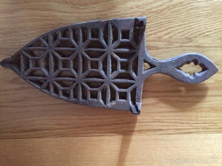 Antigüedades: Soporte para plancha - Foto 7 - 194589470