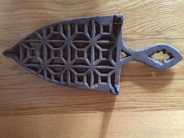 Antigüedades: Soporte para plancha - Foto 8 - 194589470