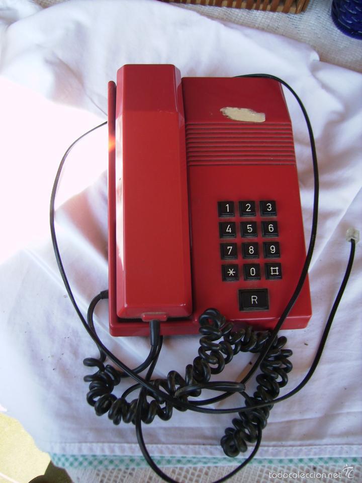 **TELEFONO DE LOS 80 MODELO TEIDE, FUNCINA PERFECTAMENTE** (Antigüedades - Técnicas - Teléfonos Antiguos)