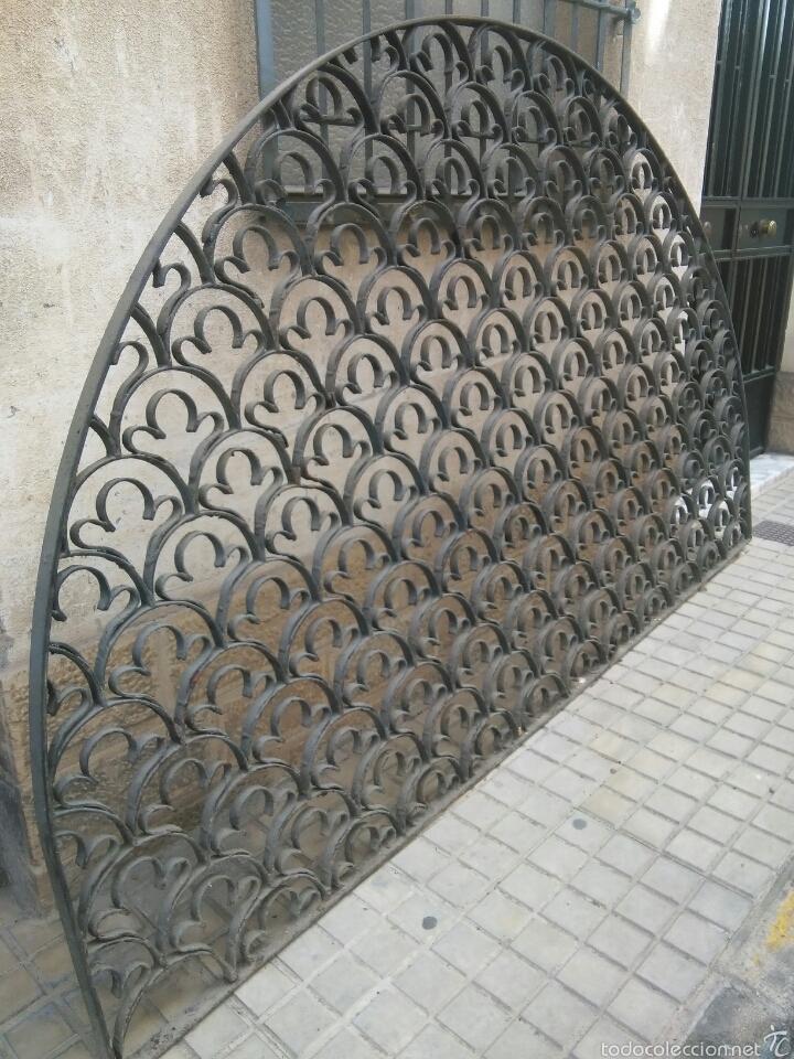 MEDIO PUNTO DE FORJA (Antigüedades - Técnicas - Cerrajería y Forja - Forjas Antiguas)