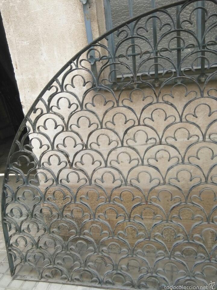 Antigüedades: Medio punto de forja - Foto 3 - 57078736