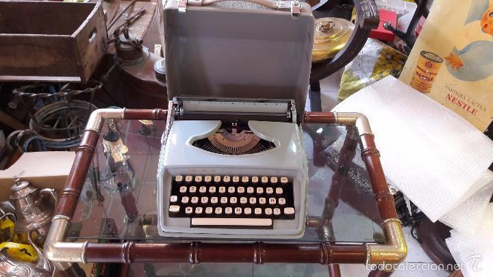 Antigüedades: maquina de escribir con funda remington - Foto 3 - 57093061