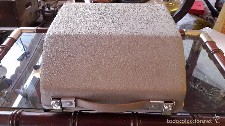 Antigüedades: maquina de escribir con funda remington - Foto 4 - 57093061