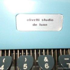 Antigüedades: MAQUINA PORTATIL DE OLIVETTI. Lote 71717051