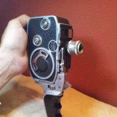 Antigüedades: PAILLARD BOLEX C8 MOVIE CAMERA, 1954 SWISS-MADE. Lote 57134195