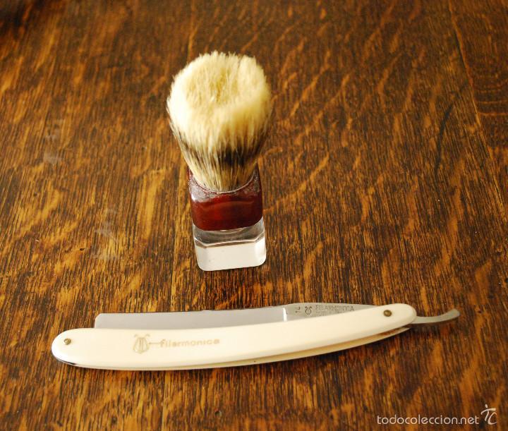Antigüedades: Gran lote antiguo de afeitado, completo (ver fotos adicionales) - Foto 4 - 57164129